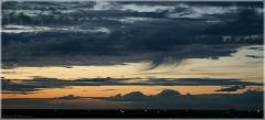 После заката. Перистые облака. Красивые фото закатов