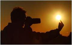 Как фотографировать солнце