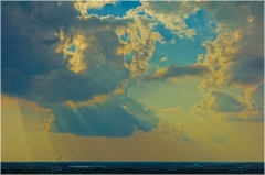 Краски летнего заката