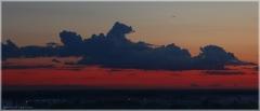 Цветные облака на закате. Как снимать закат зеркалкой