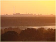 Фотографии закатов. Розовый туман на закате. Мир туманов