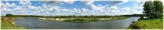 Река Сура. Летний пейзаж. Фото реки. Панорамы высокого разрешения