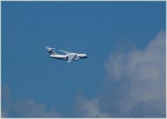 ИЛ-76 в облаках. Фото пассажирских самолетов в небе