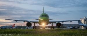 Фото самолета A319 в аэропорту Нижнего Новгорода