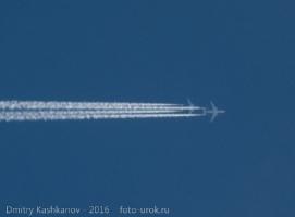 Самолеты устроили гонки в небе
