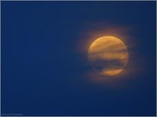 Луна сегодня. Фото с балкона