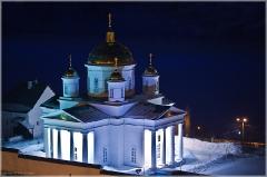 Нижний Новгород. Благовещенский монастырь. Ночная фотография