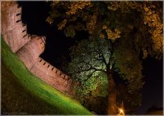 Часовая башня Нижегородского Кремля. Необычное фото. Фото Нижнего Новгорода