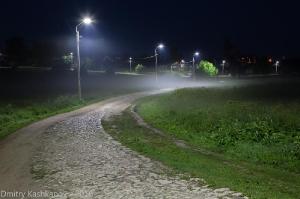 Ночная дорога. Фото
