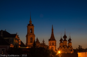 Суздаль. Самая короткая ночь. Фото