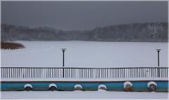 Надвигается буря. Фото непогоды. Унылые зимние пейзажи