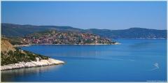 Городок на полуострове Эгейского моря