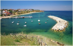 Тихая пристань. Залив Эгейского моря