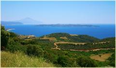 Полуостров Ситония. Гора Святой Афон