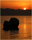 Морские пейзажи. Мармарис. Закат Солнца над заливом