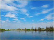 Фото весны. Деревня Галицы. Река Клязьма. Фото разлива