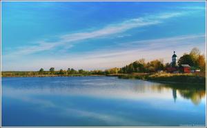 Озеро осенью. Село Старково Нижегородской области