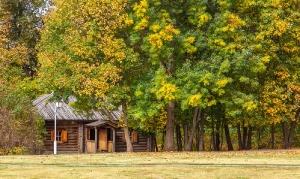 Болдинская осень. Банька в усадьбе А.С.Пушкина