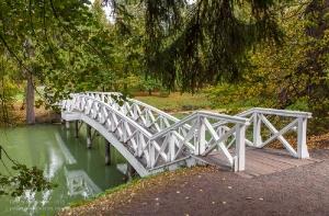 Болдинская осень. Горбатый мостик в усадьбе А.С.Пушкина