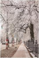 Парк Кулибина в Нижнем Новгороде. Зима