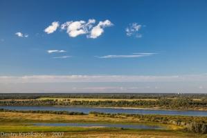 Фотографии реки Оки в районе города Горбатова
