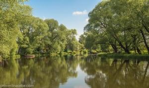Река Трубеж. Переславль-Залесский. Летнее фото
