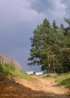 Лето в деревне. Затишье перед бурей. Фото