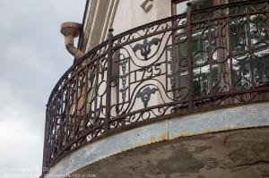 Выборг. Старинная балконная решетка 1795 года