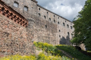 Выборгский замок. Крепостные стены и башни