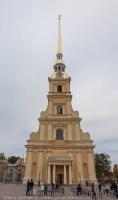 Колокольня Петропавловского собора. Санкт-Петербург. Фото