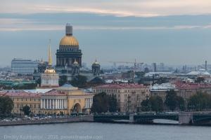 Смотровая площадка Петропавловского собора