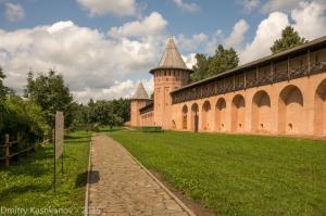 Монастырский огород. Спасо-Ефимьев монастырь. Суздаль. Фотографии