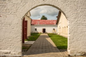 Тюремный двор. Спасо-Ефимьев монастырь. Суздаль. Фотографии