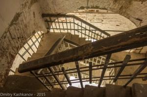 Подъем на Преподобенскую колокольню. 206 ступеней
