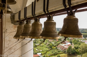 Звонница. Фотографии Суздаля с Преподобенской колокольни