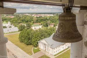 Фотографии Суздаля с Преподобенской колокольни
