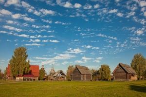 Музей деревянного зодчества. Суздаль. Фото 2015 года
