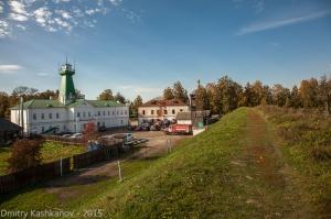Суздальский Кремль и пожарная часть