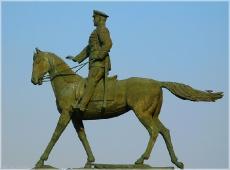 Памятник маршалу Жукову. Фото Москвы