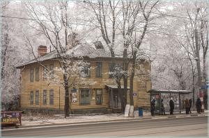 Старые здания на ул. Белинского. Нижний Новгород