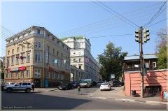 Алексеевская улица. Старые здания
