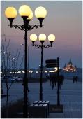Нижне-Волжская набережная и собор Александра Невского. Фото Нижнего Новгорода