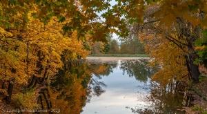 Болдинская осень. Нижний пруд. Вечернее фото
