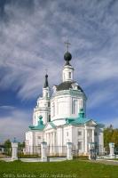 Большое Болдино. Фото Успенской церкви