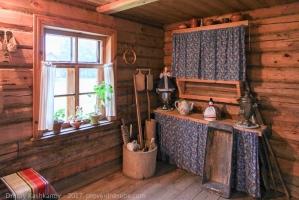 Интерьер кухни в усадьбе Пушкина
