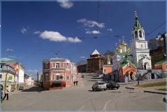 Старый город. Достопримечательности Нижнего Новгорода. Фото