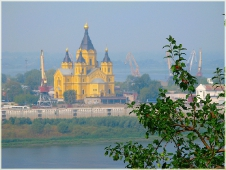 Собор Александра Невского в Нижнем Новгороде. Фото