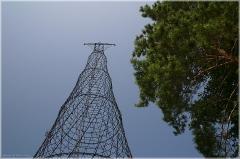 Фото Башни Шухова на Оке. Дзержинск. Нижегородская область