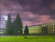 Ночное фото. Законодательное собрание. Достопримечательности Нижнего Новгорода. Фото