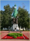 Архангельский собор. Памятник основателю города. Фото Нижнего Новгорода. Нижегородский Кремль